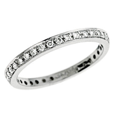 Platinum Pave Diamond Ring