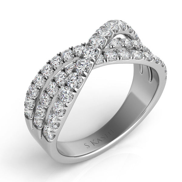 Palladium Fashion Ring