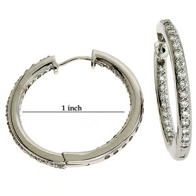 Inner Set Loop Earring