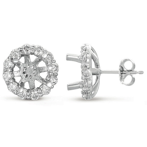Halo Diamond Earring for 1.5ct round