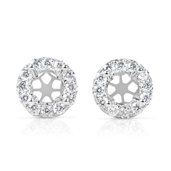 Halo Diamond Earring For 1.5cttw round