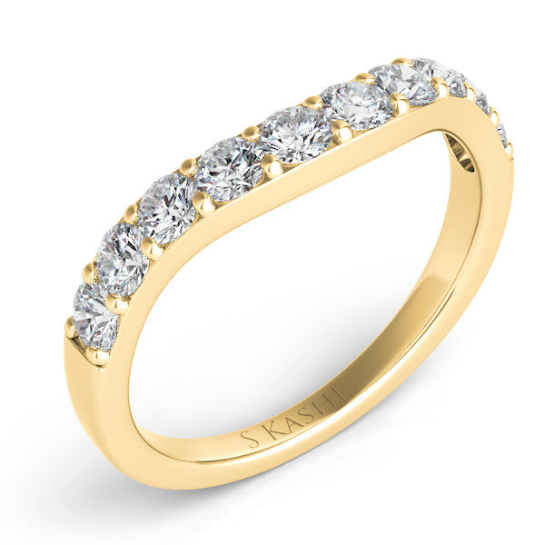Yellow Gold Bridal Band