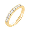 White Gold Pave Band  # EN7174-BWG