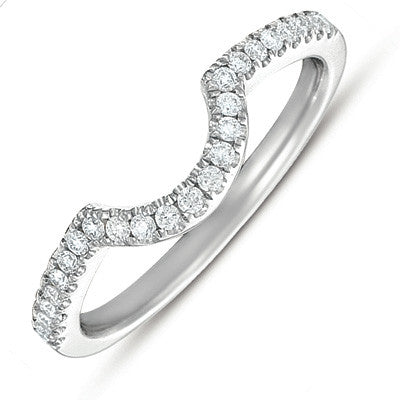 White Gold Matching Band for en7281