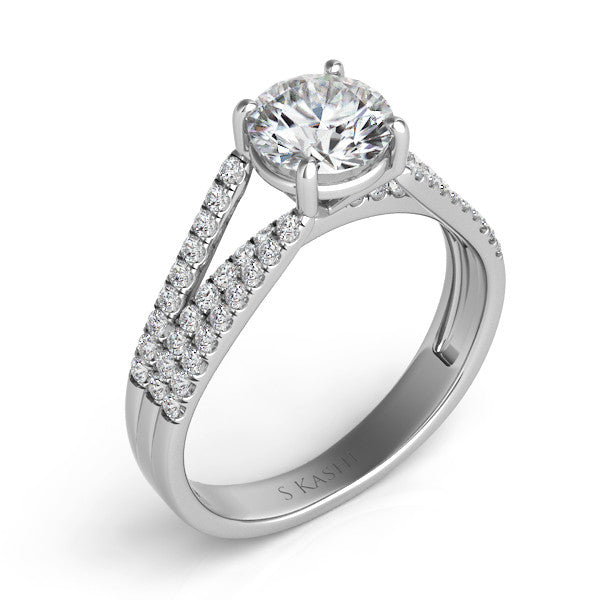 Palladium Engagement Ring