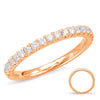White Gold Matching Band  # EN7891-BWG