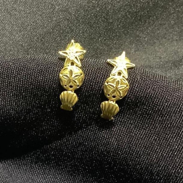 GOLD EARRINGS #11