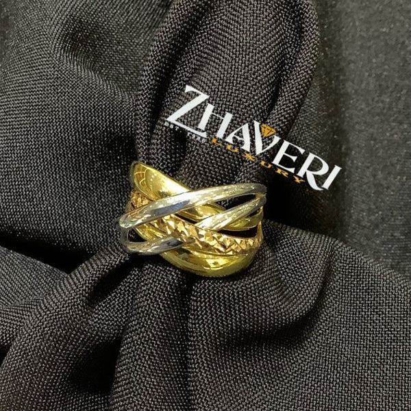 FANCY GOLD RING #6
