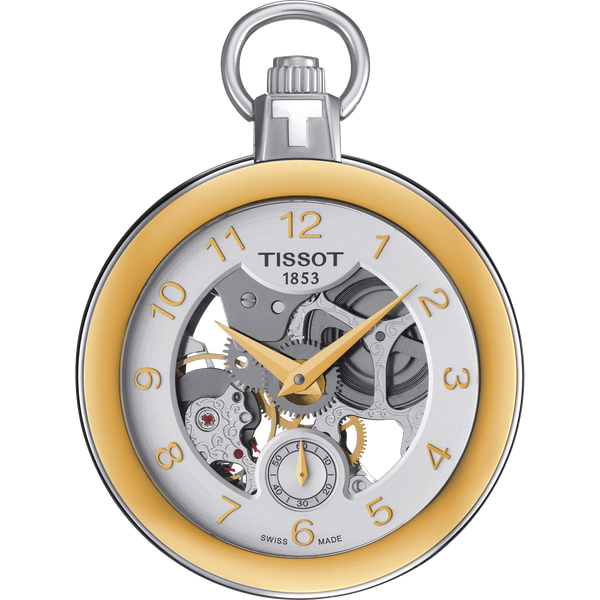 TISSOT POCKET MECHANICAL SKELETON-T853.405.29.412.00