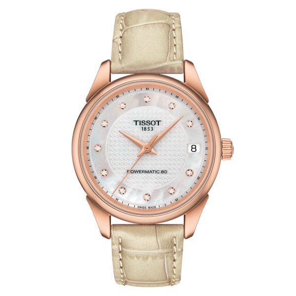 TISSOT VINTAGE POWERMATIC 80 LADY 18K GOLD-T920.207.76.116.00