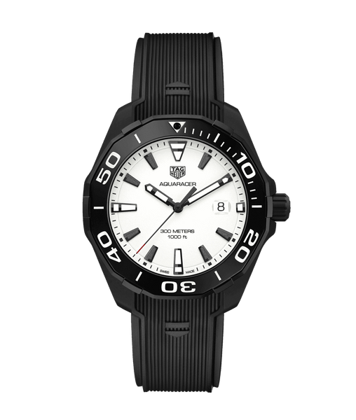 TAG HEUER AQUARACER QUARTZ: Ref # WAY108A.FT6141