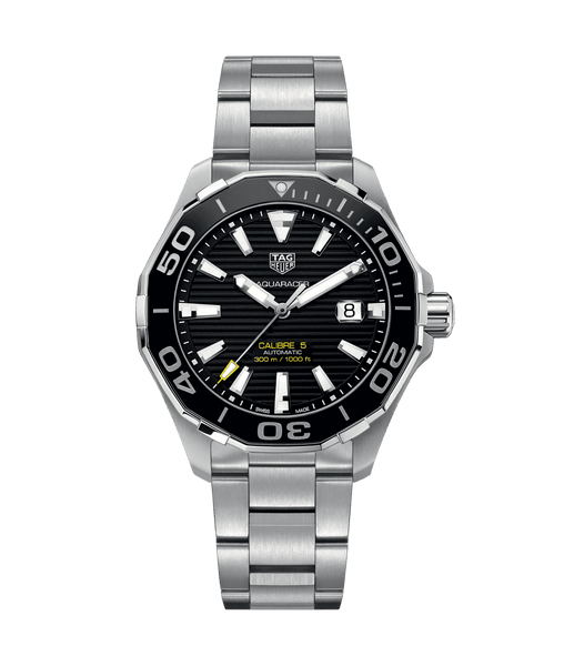 TAG HEUER AQUARACER CALIBRE 5: Ref: # WAY201A.BA0927