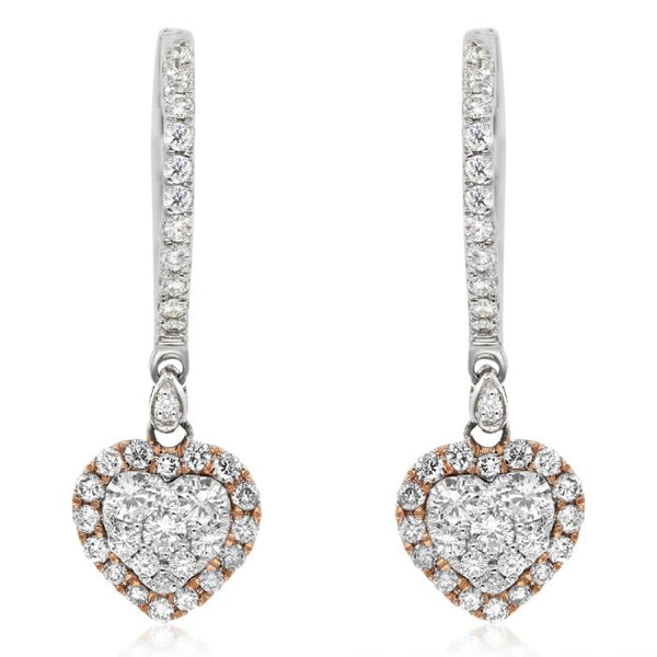 Diamond Earrings. #1099-ASE10561B