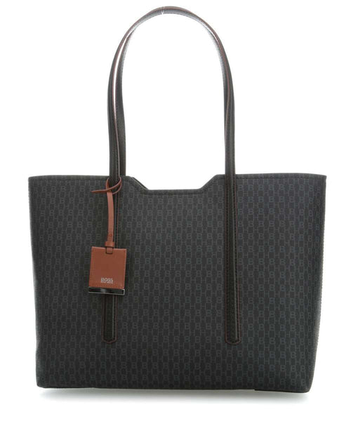 HUGO BOSS Taylor Shopper Logo Print Black. #50402933