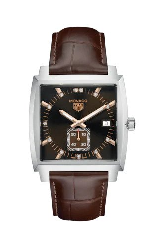 TAG HEUER MONACO QUARTZ WATCH : REF: WAW131E.FC6420