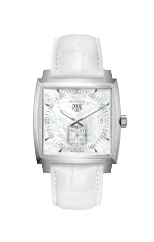 TAG HEUER MONACO QUARTZ WATCH: REF: WAW131B.FC6247