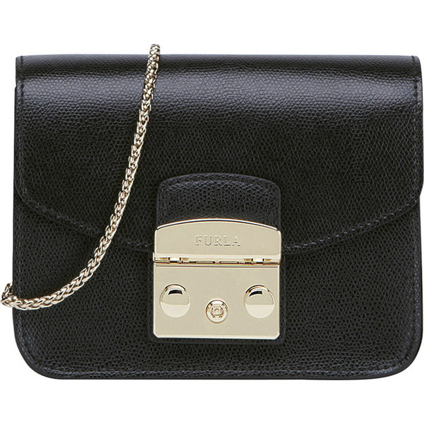 Furla Metropolis Mini Crossbody Bag Black. #BGZ7AREOOZ