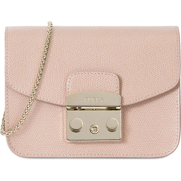 FURLA Metropolis Mini Crossbody Bag Pink, #BGZ7AREOOZ