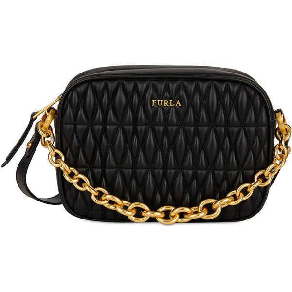FURLA Cometa Mini Crossbody Bag Black. #BTX42Q00Z