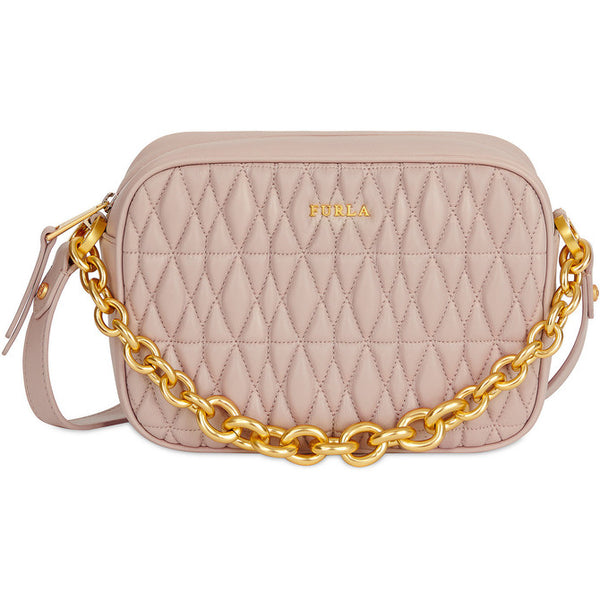 FURLA Cometa Mini Crossbody Bag Nude. #BTX42Q00Z