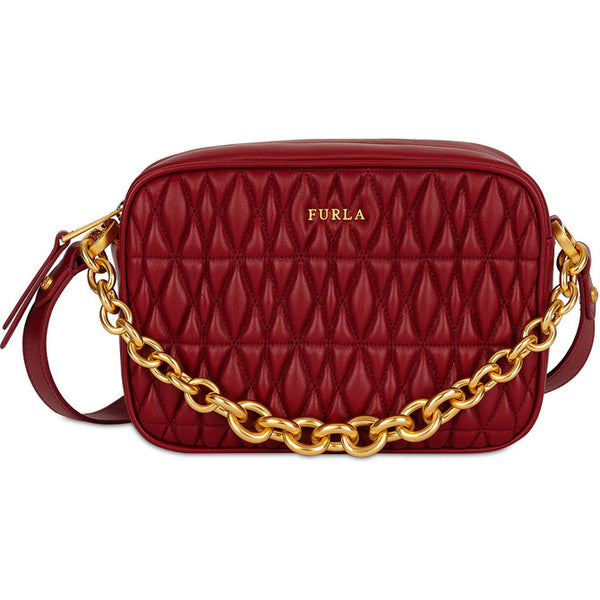 FURLA Cometa Mini Crossbody Bag Red. #BTX42Q00Z