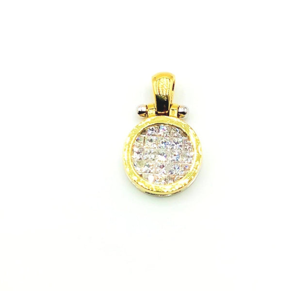 #10008546 DIAMOND PENDANT