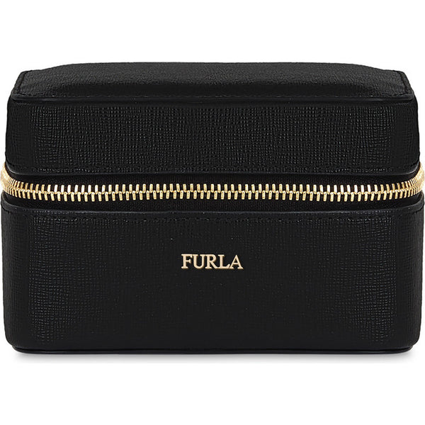 FURLA Bloom Jewelry Case Black.#ESQIB000Z
