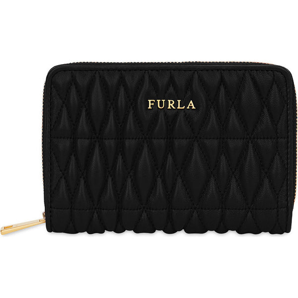 FURLA Cometa Zip Around Wallet Black. #PAV42QOOOZ