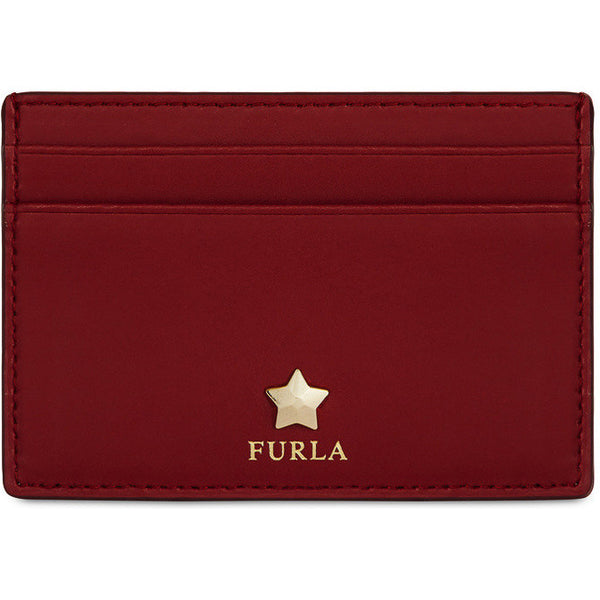 FURLA Alya Small Credit Card Case Red. PAYIN3800Z