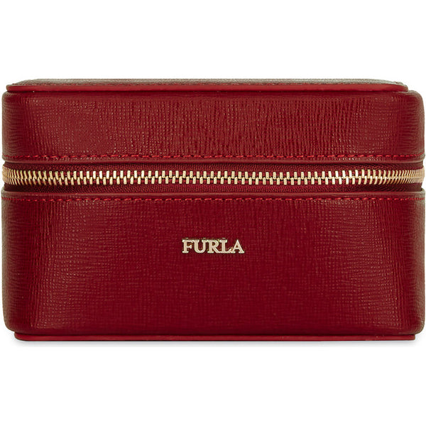 FURLA Bloom Jewelry Case Red.#ESQIB000Z