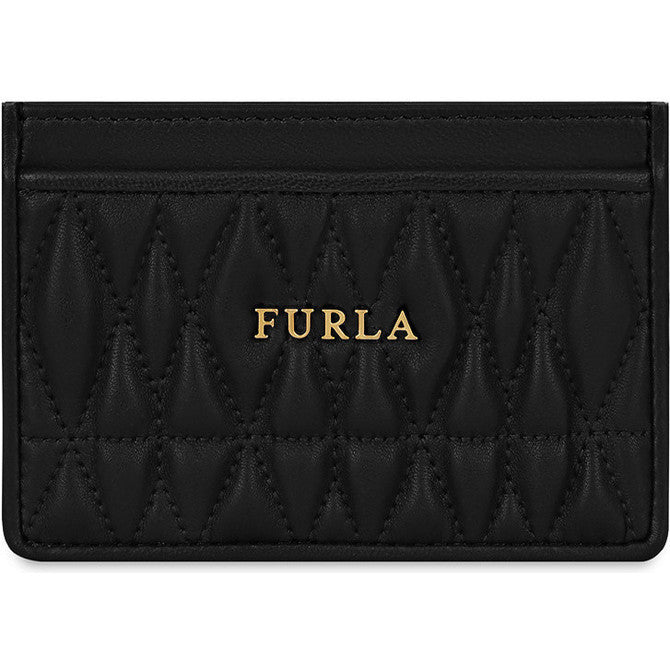 FURLA Cometa Credit Card Case Black PAV82Q000Z