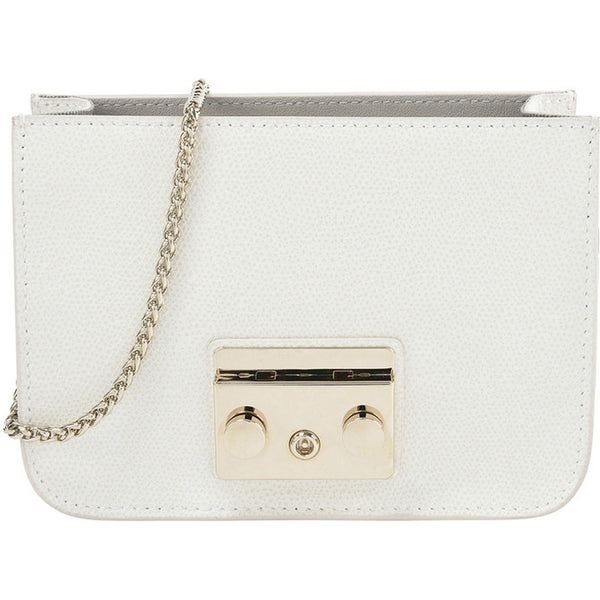 Furla Metropolis Crossbody Bag White. #K065AREV18
