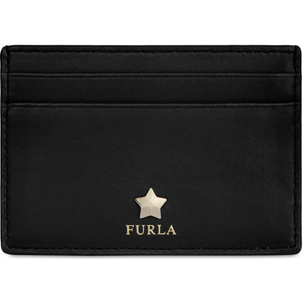 FURLA Alya Small Credit Card Case Black. PAYIN3800Z