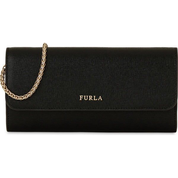 FURLA Babylon Chain Wallet Black. #EP73B000Z