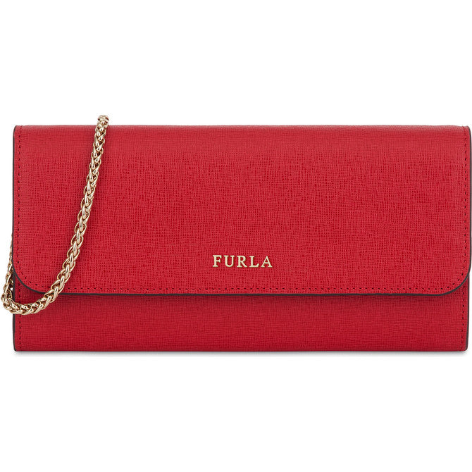 FURLA Babylon Chain Wallet Red. #EP73B300Z