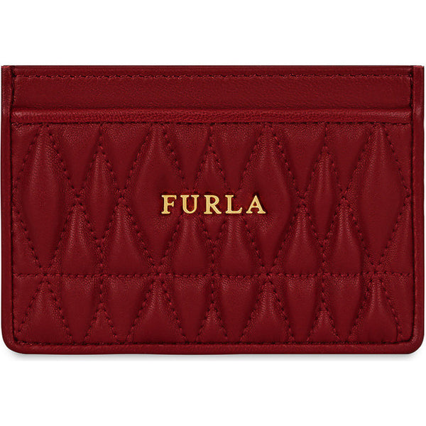 FURLA Cometa Credit Card Case Red. PAV82Q000Z