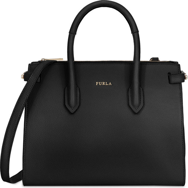 FURLA Pin Tote Black.#BLS10AS00Z