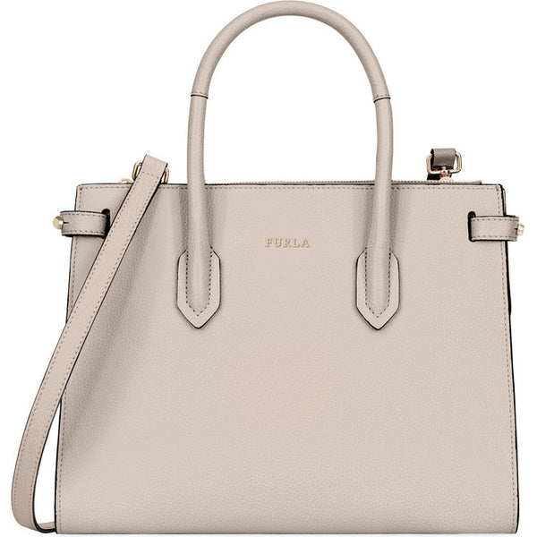 FURLA Pin Tote Nude.#BLS10AS00Z