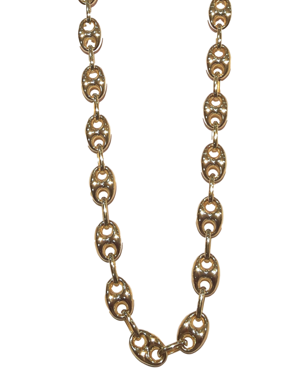 14K Yellow Gold Puff Gucci Necklace  10135721