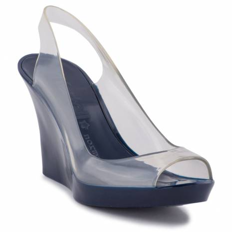 KARTELL Lady Normaluisa Blue Shoes Kart.