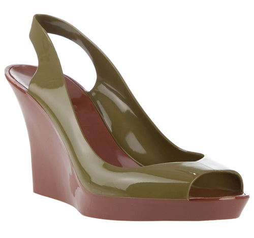 KARTELL Ladies Normaluisa Green Shoes Kart.
