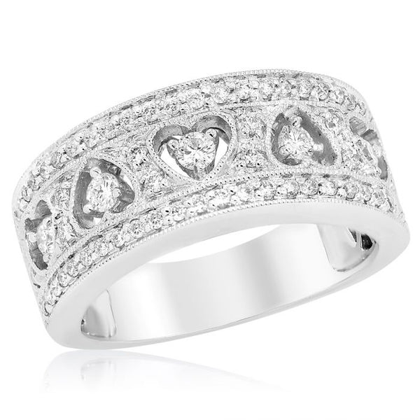 White Gold & Diamond Ring. #1099-R4463C