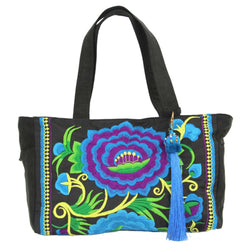 London Rose Bag Blue/Black - Global Groove (B)