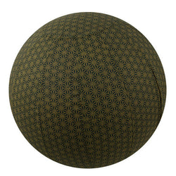 Yoga Ball Cover Size 55cmDesign Olive Geometric - Global Groove (Y)