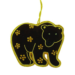 Brown Bear Holiday Ornament - WorldFinds (H)