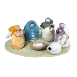 Cozy Felt Nativity Set - Wild Woolies (H)