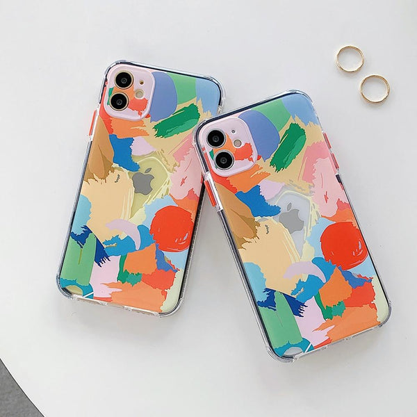 Abstract Art Case - Jelly Cases