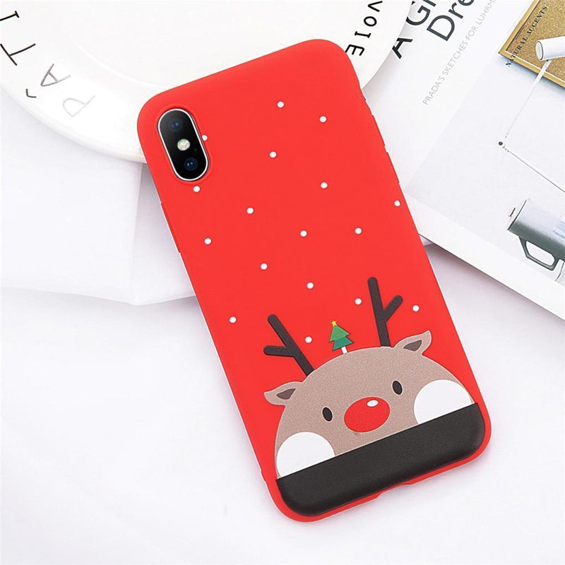 Adorable Reindeer Case - Jelly Cases
