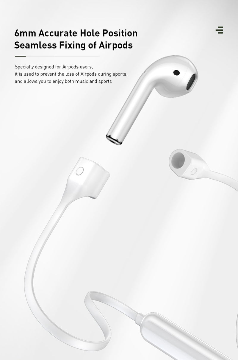 Anti Lost AirPods Magnetic Strap - Jelly Cases
