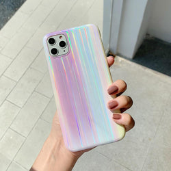 Aurora Pattern Laser Case - Jelly Cases